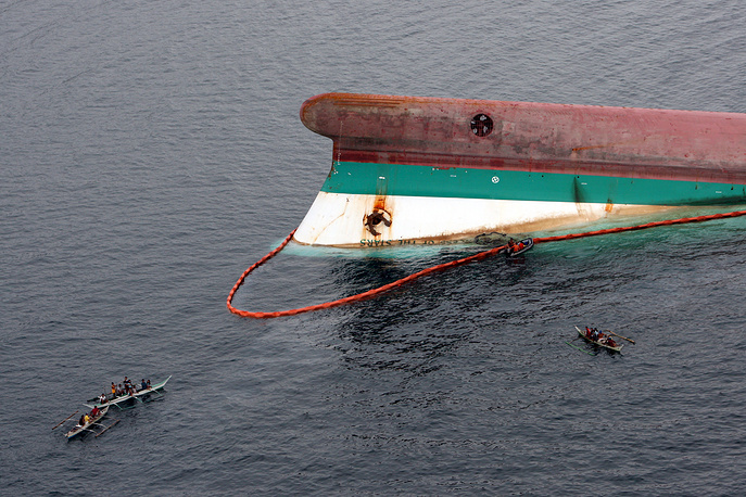 В ночь на 22 июня 2008 года у филиппинского острова Сибуян во время сильного шторма затонул паром Princess of Stars