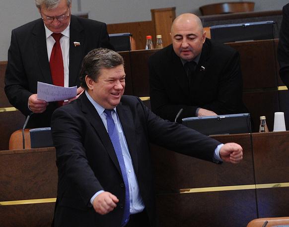 Больше всего среди вице-спикеров Совфеда заработал Евгений Бушмин - 6,2 млн руб