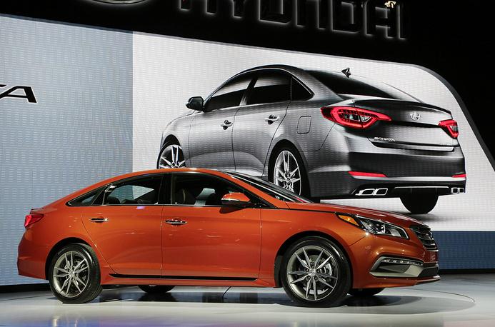 Корейский производитель Hyundai показал обновленную Sonata