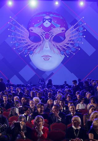 """Перед началом церемонии вручения премии """"Золотая маска"""" в Большом театр"""