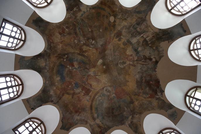 """Отреставрированная Ратная палата в государственном художественно-архитектурном дворцово-парковом музее-заповеднике """"Царское Село"""""""