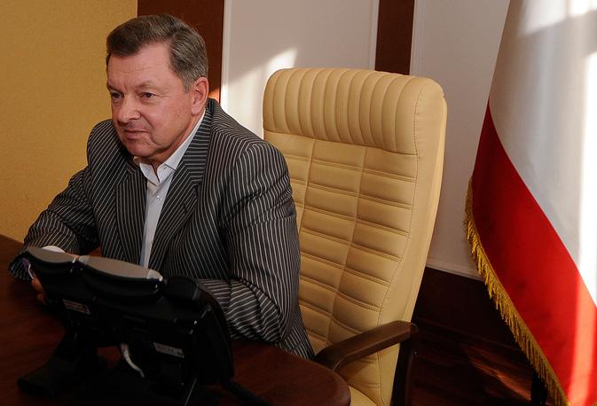 Полпред президента РФ в Крымском федеральном округе Олег Белавенцев