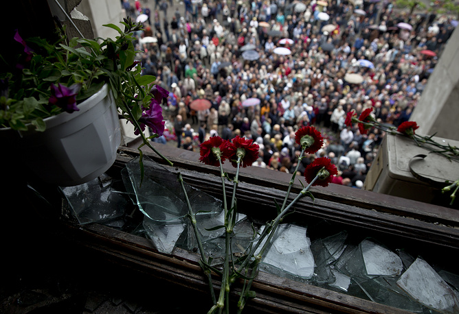 В результате трагических событий погибли 46 человек, более 200 обратились за медпомощью