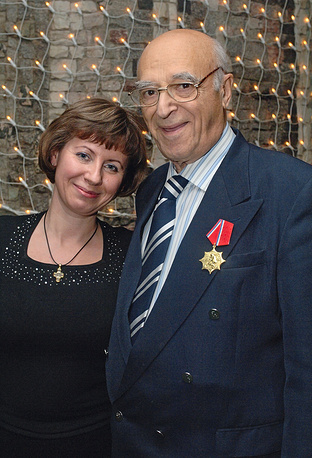 С супругой Еленой, 2006 год