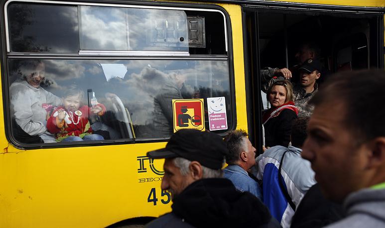 В Сербии, в связи с тяжелой обстановкой, вызванной стихийным бедствием, были эвакуированы свыше 16 тыс. человек