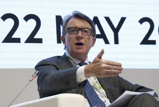 Председатель Global Counsel, еврокомиссар по торговле (2004-2008) лорд Мандельсон