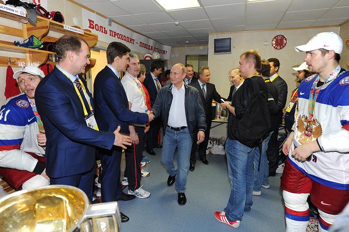 Глава государства отметил великолепную и результативную игру команды Олега Знарка на мировом первенстве в Минске