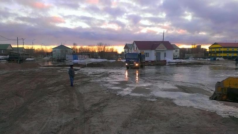 Ситуация в посёлке Уренгой