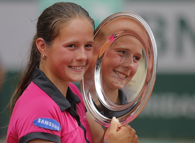 17-летняя Дарья Касаткина выиграла Roland Garros среди юниорок, обыграв в финале сербку Ивану Йорович