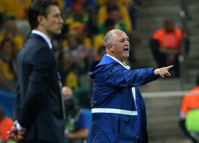 Главный тренер сборной Бразилии Луис Фелипе Сколари