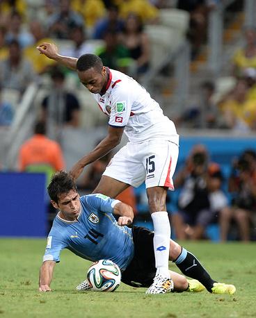 Футболисты сборной Коста-Рики сумели положить уругвайцев на лопатки