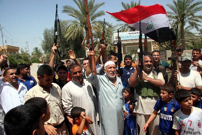 Иракские добровольцы призывают к борьбе с боевиками в провинции Дияла