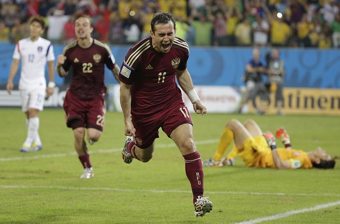 Форвард повторил рекорд Владимира Бесчастных по количеству голов в составе национальной команды