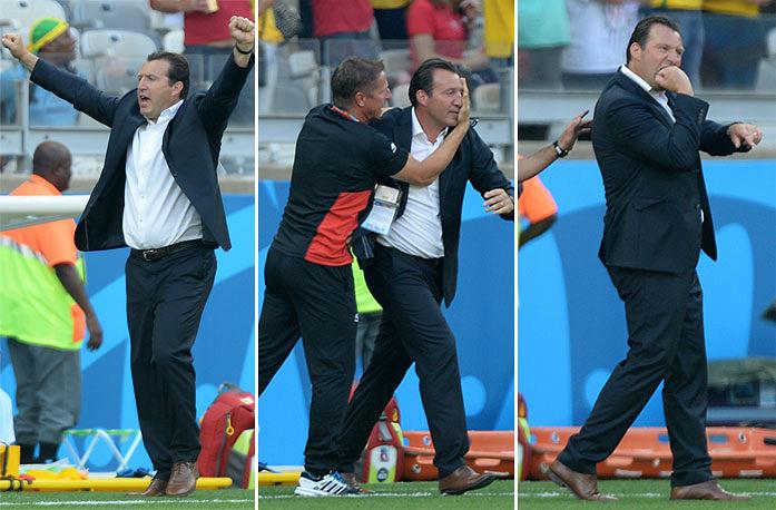 Тренер сборной Бельгии Марк Вильмотс