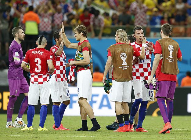Хорватские футболисты продолжают борьбу за выход в плей-офф, а камерунцы осталось провести в Бразилии лишь еще один матч