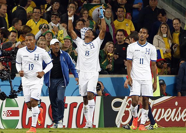 Футболисты Гондураса первыми открыли счет в матче