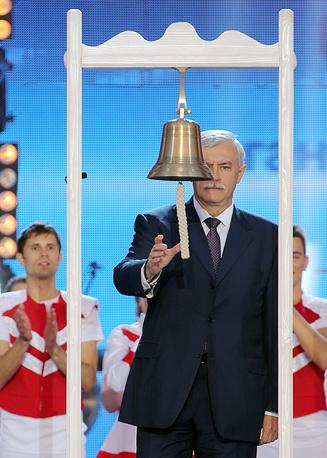 Врио губернатора Петербурга Георгий Полтавченко