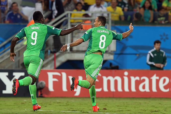 Победа оставила нигерийцам шансы на продолжение борьбы в турнире