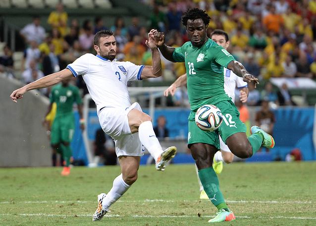 После перерыва ивуарийцы сумели сравнять счет - автором гола стал Вильфрид Бони