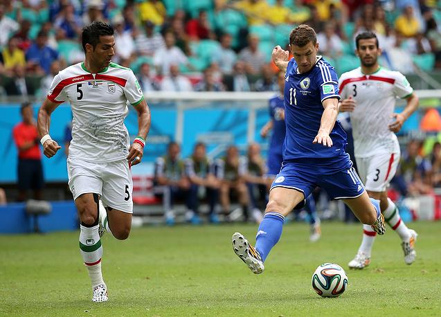 Лидер сборной Боснии и Герцеговины Эдин Джеко наконец-то забил гол