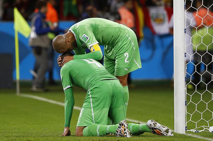 Игроки алжирской команды убиты горем