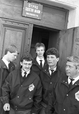 Рабочий отряд содействия милиции Нижегородского района, 1989 год