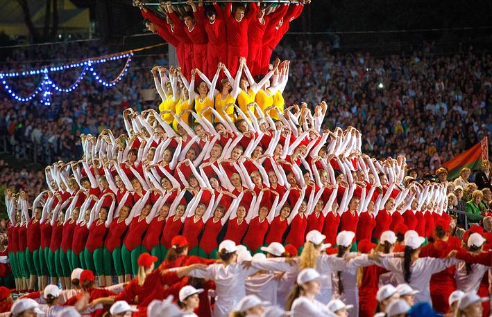 Праздничный парад в честь Дня независимости в Минске