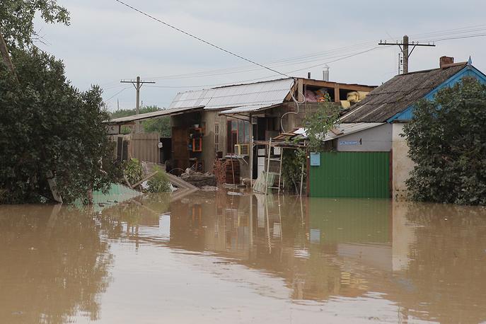 6-7 июля 2012 года в Крымске произошло самое разрушительное наводнение за всю историю региона, унесшее жизни 171 человека