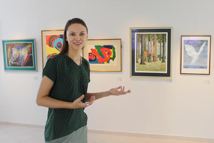 Ирина Костерина, куратор выставки, искусствовед петербургского Арт-центра в Перинных рядах