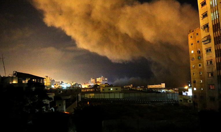 """В ночь на 8 июля ВВС Израиля начали спецоперацию """"Рубеж обороны"""""""