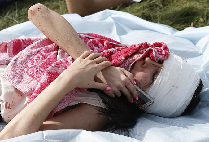 В федеральных учреждениях здравоохранения были зарезервированы койки на случай, если пострадавшим потребуется оказание высокотехнологичной помощи