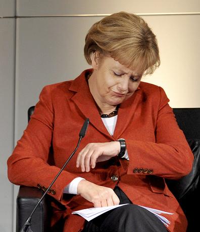 Канцлер Германии на 45-й Конференции по безопасности в Мюнхене. 2009 год