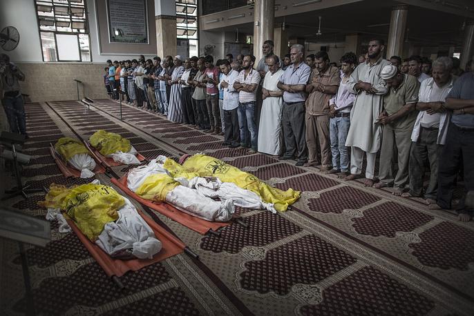 В ходе авиаудара в воскресенье вечером, 20 июля, погибли по меньшей мере 16 мирных граждан