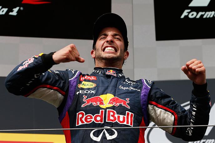 Даниэль Риккьярдо, выигравший свой второй Гран-при в карьере