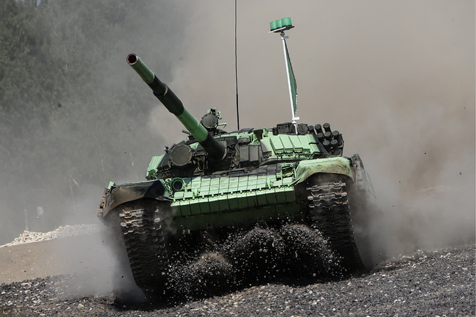 Российская сторона подготовила к участию в чемпионате больше 60 танков