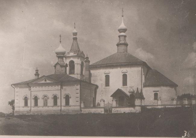 Церковь Похвалы Богородицы 1725 года (разрушена)