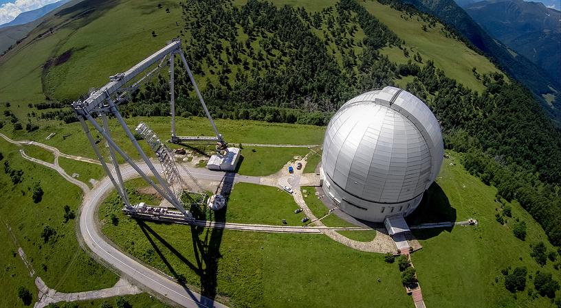 Специальная астрофизическая обсерватория РАН в Нижнем Архызе — крупнейший центр наземных астрономических наблюдений в России.