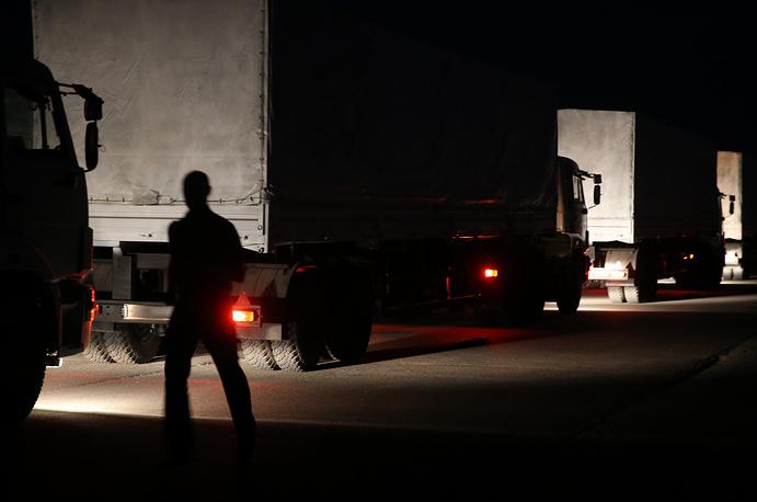 Автоколонна доставит около 2 тыс. тонн гуманитарного груза