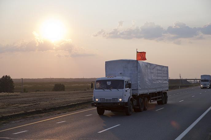 В свою очередь спикер Совета национальной безопасности и обороны Украины Андрей Лысенко сообщил, что украинские силовики обеспечат безопасность прохождения колонны гуманитарной помощи