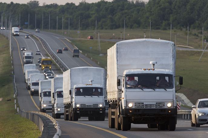Назначенный Верховной радой министром внутренних дел Украины Арсен Аваков сообщил, что гуманитарный конвой не будет пропущен через Харьковскую область