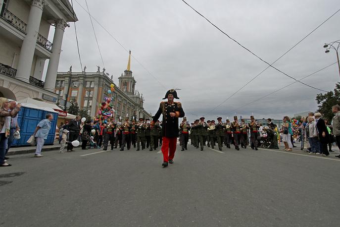 Сводный духовой оркестр под управлением Александра Павлова (Екатеринбург)