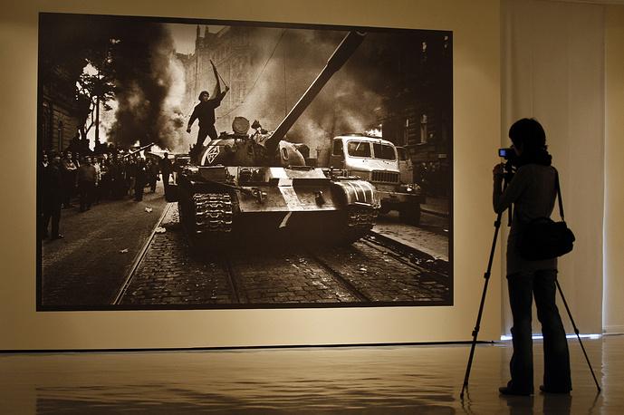 """Йозеф Коуделка. """"Вторжение-1968"""""""