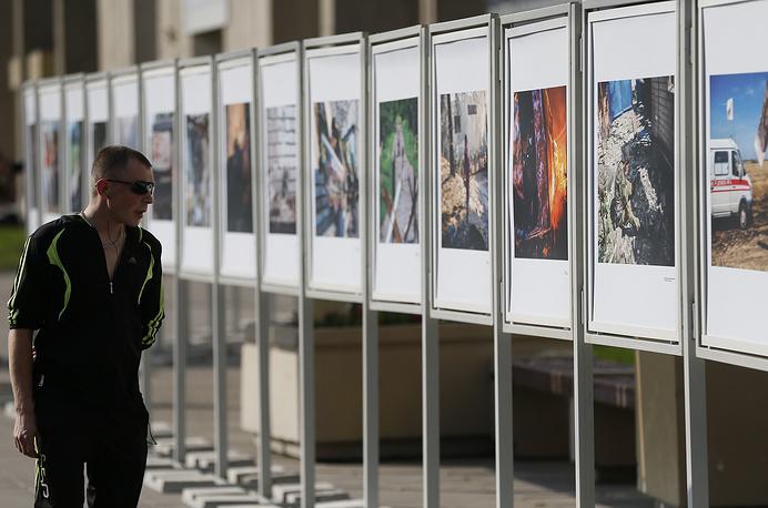 Уличная фотовыставка работ Андрея Стенина
