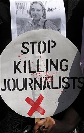 В 2014 году Нидрингхаус была убита в Афганистане во время подготовки материала о президентской кампании