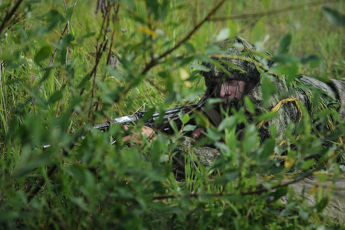 Работа снайпера