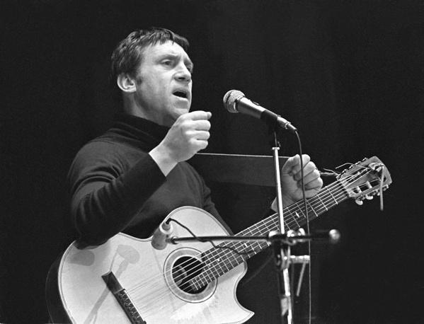 Владимир Высоцкий выступает в Ярославле, 1979 год