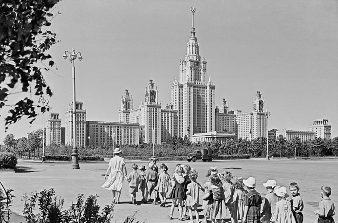 Московский государственный университет имени М.В. Ломоносова, 1960 год