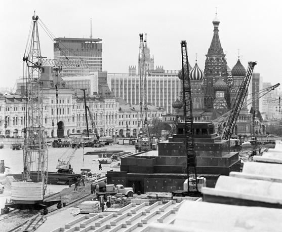 Реконструкция Красной площади, 1974 год