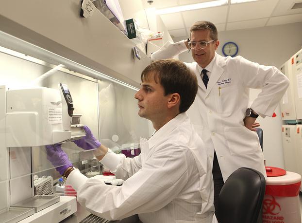 Разработка вакцины против лихорадки Эбола в американском Университете Вандербильта