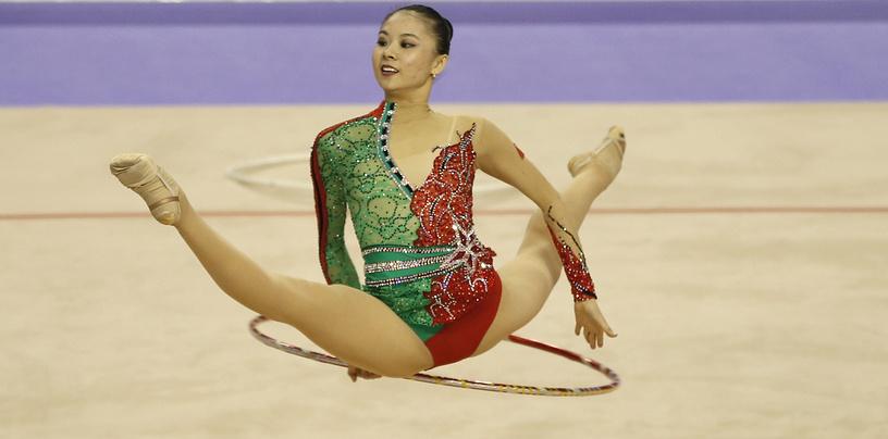 Китайская спортсменка Сенью Денг